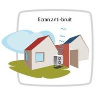 Pompes chaleur implantation et environnement acoustique for Solution anti bruit appartement